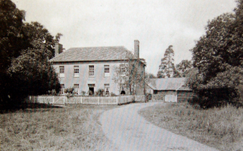 Home Farm House in 1924 [AD1147/16]